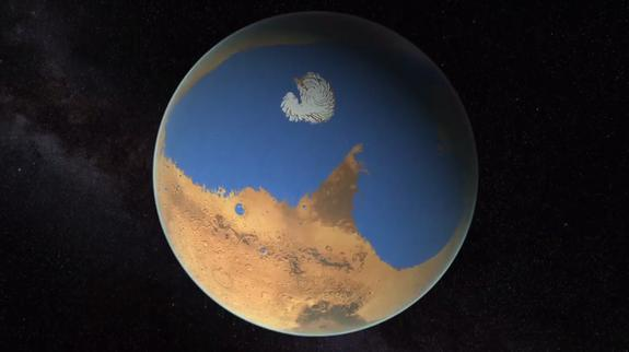 Wet Mars: Red Planet Lost Ocean's Worth of Water, New Maps Reveal