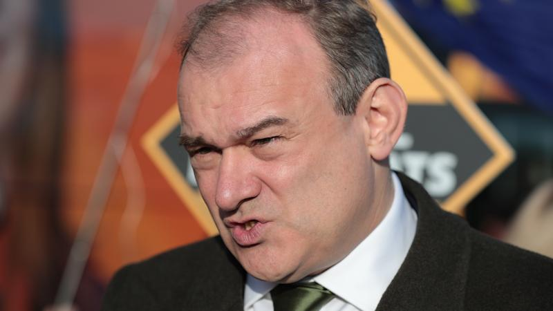 Sir Ed Davey elected as Liberal Democrat leader