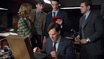 <p> With a heavyweight cast, including Benedict Cumberbatch, Keira Knightley and Matthew Goode, at its core, The Imitation Game is the unravelling story of Alan Turing. A closeted homosexual who cracked the Enigma code during World War II, this isn't a happy-go-lucky tale, but we doubt you'll regret watching it. Leading man, Cumberbatch even admitted that playing Turing had such an emotional effect on him that he broke down into tears when filming wrapped. </p>