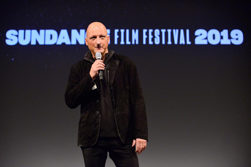 Director Dan Reed speaks onstage during the 'Leaving Neverland' Premiere during the 2019 Sundance Film Festival at Egyptian Theatre on January 25, 2019 in Park City, Utah. (Photo by Jerod Harris/Getty Images)