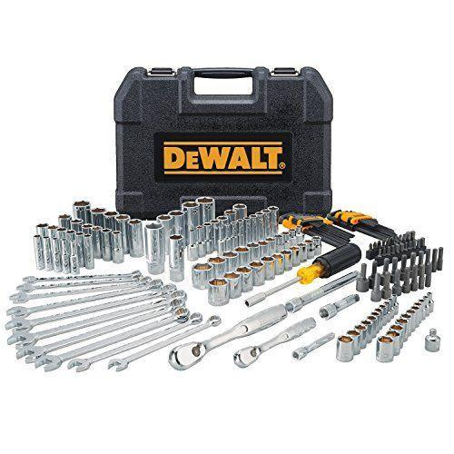 "<p><strong>DEWALT</strong></p><p>amazon.com</p><p><strong>$104.99</strong></p><p><a href=""https://www.amazon.com/dp/B0767NRWH8?tag=syn-yahoo-20&ascsubtag=%5Bartid%7C10048.g.34865745%5Bsrc%7Cyahoo-us"" rel=""nofollow noopener"" target=""_blank"" data-ylk=""slk:Shop Now"" class=""link rapid-noclick-resp"">Shop Now</a></p><p>If your dad likes to work on his car (or his lawnmower, or tractor, or any other piece of machinery), odds are good he appreciates the value of a good set of tools. This 172-piece masterpiece has practically everything he'll ever need that doesn't require electrical or pneumatic power.</p>"