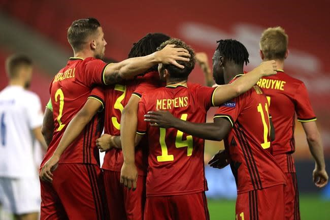 UEFA rejects Belgium FA's proposal to allow fans back