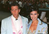 <p>The singer/actress who played Wayne's love interest Cassandra Wong in the film attended the London premiere with then-fiance Elie Samaha. (Photo: Everett) </p>