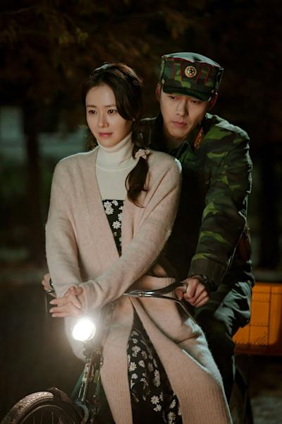 South Korea's biggest current television hit is a fantastical tale of a billionaire heiress who accidentally paraglides into the North and falls in love with a chivalrous army officer (AFP Photo/Handout)