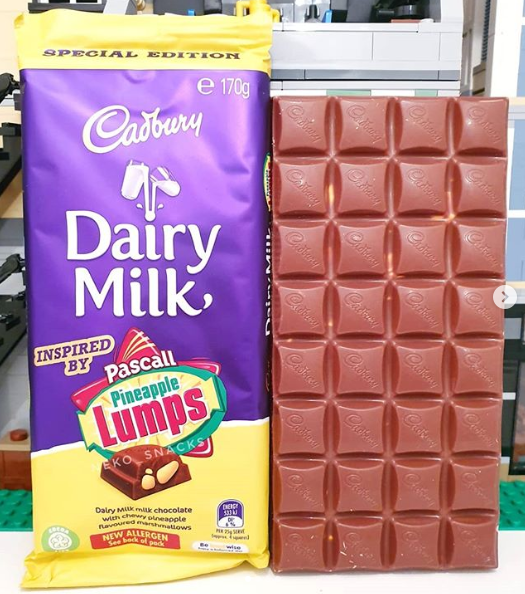 Cadbury follows Caramilk with Pineapple Lumps chocolate blocks. Photo: Instagram/rateoroast,