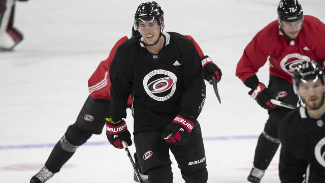 Hurricanes sign defensemen Haydn Fleury, Gustav Forsling to one-year deals