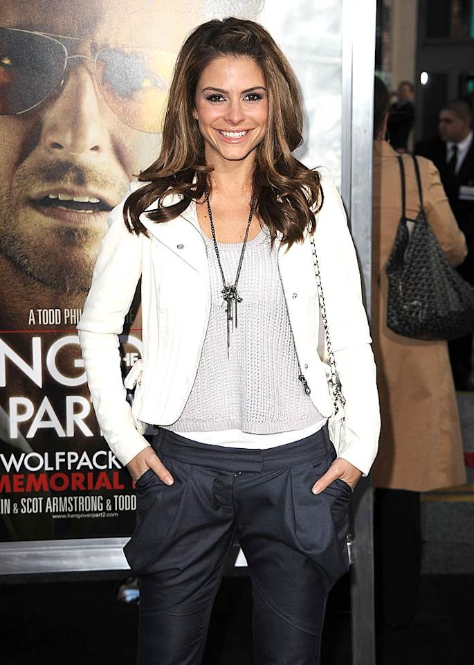 """""""Access Hollywood's"""" Maria Menounos turns 33 Steve Granitz/<a href=""""http://www.wireimage.com"""" target=""""new"""">WireImage.com</a> - May 19, 2011"""