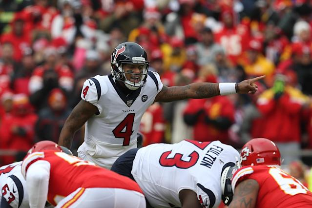 Deshaun Watson remains a star, but is the Houston offense pointing in the wrong direction? (Scott Winters/Icon Sportswire via Getty Images)