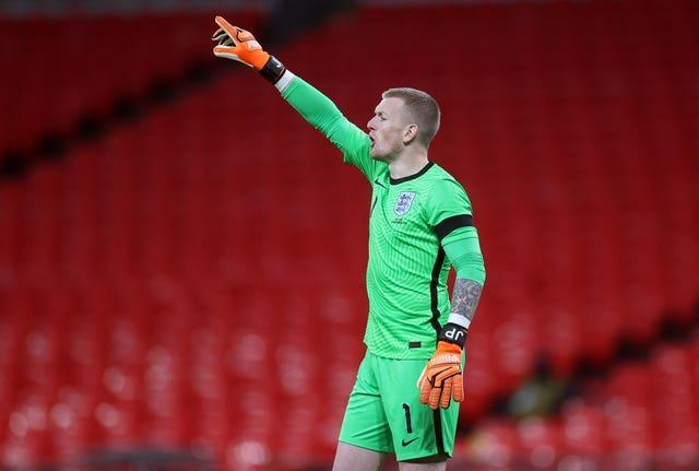 Jordan Pickford has won 30 caps for England and starred at the 2018 World Cup