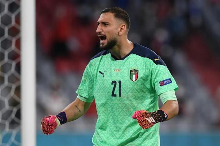 Gianluigi Donnarumma held on for a 2-1 victory
