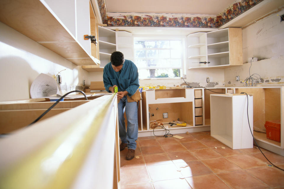 Kitchen upgrades are among the most popular renovations (Getty)