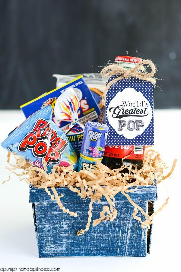 """<p>Toddlers and young kids will enjoy putting together a candy-filled gift basket for their """"pops""""—especially if he shares. </p><p><a href=""""https://apumpkinandaprincess.com/worlds-greatest-pop-gift/"""" rel=""""nofollow noopener"""" target=""""_blank"""" data-ylk=""""slk:Get the tutorial."""" class=""""link rapid-noclick-resp"""">Get the tutorial.</a></p><p><a class=""""link rapid-noclick-resp"""" href=""""https://go.redirectingat.com?id=74968X1596630&url=https%3A%2F%2Fwww.walmart.com%2Fip%2FRing-Pop-Candy-Variety-Party-Pack-Assorted-Flavor-Lollipop-Suckers-20-Count%2F715193852&sref=https%3A%2F%2Fwww.oprahdaily.com%2Flife%2Fg27603456%2Fdiy-homemade-fathers-day-gifts%2F"""" rel=""""nofollow noopener"""" target=""""_blank"""" data-ylk=""""slk:SHOP CANDY"""">SHOP CANDY</a></p>"""