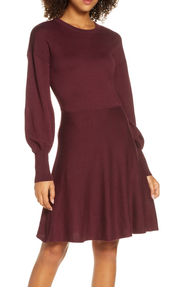 French Connection Orla Fit and Flare Dress
