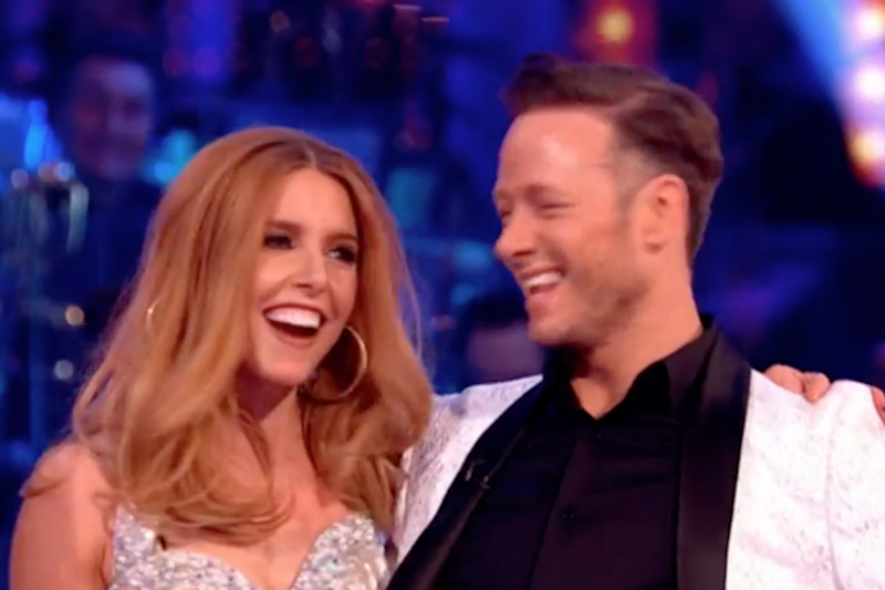 Finalists: Stacey Dooley and Kevin Clifton (BBC)
