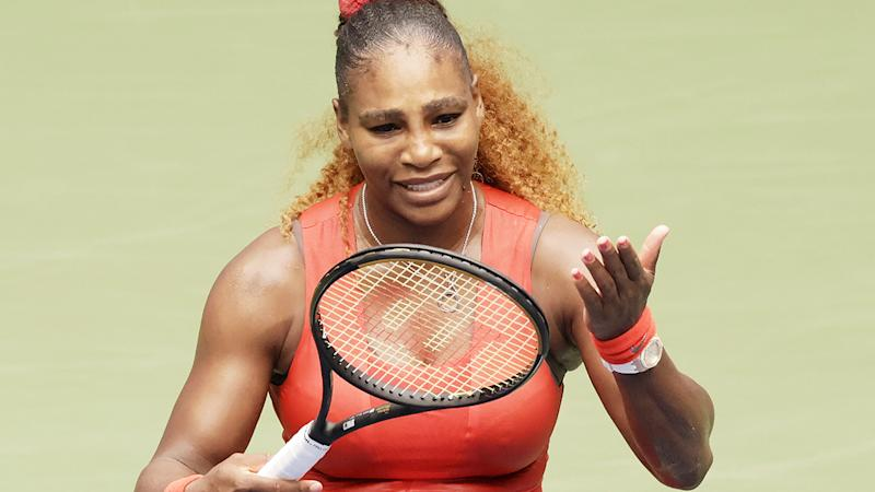 Serena Williams, pictured here during her win over Tsvetana Pironkova at the US Open.