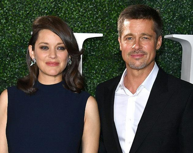 French actress Marion Cottilard has denied having anything to do with their split. Source: Getty