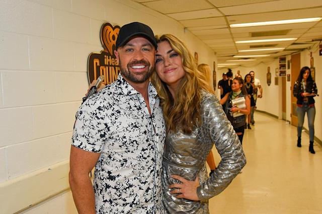 <p>Cody Alan and Anne Hudson attends the 2017 iHeartCountry Festival, A Music Experience by AT&T at The Frank Erwin Center on May 6, 2017 in Austin, Texas. (Photo: Rick Kern) </p>
