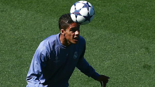 Raphael Varane is in good shape as Real Madrid prepare to face Atletico Madrid, leaving head coach Zinedine Zidane buoyed.