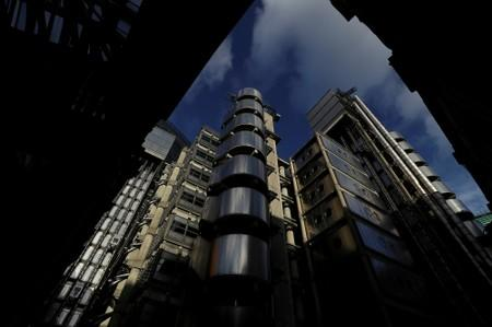 FILE PHOTO: The Lloyd's of London building is lit by winter sun in the City of London