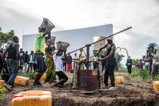 Congolese plantation sprouts art centre to help the poor