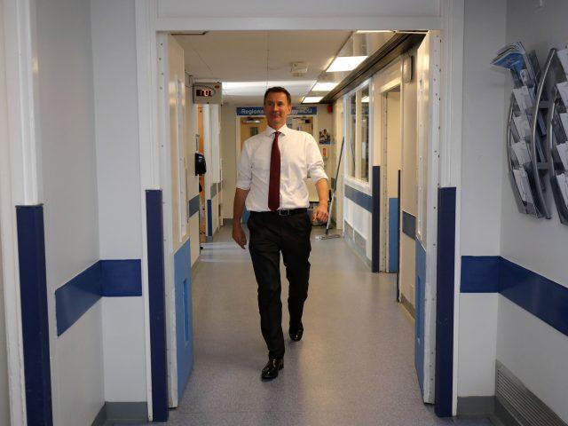 Jeremy Hunt apologised to patients in England (Christopher Furlong/PA)