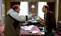 Nicolas Cage played twin brothers Charlie Kaufman and Donald Kaufman in Adaptation, the 2002 comedy about a depressed screenwriter trying to adapt a new book but his freeloading twin is causing him stress. Two of Cage's best performances.