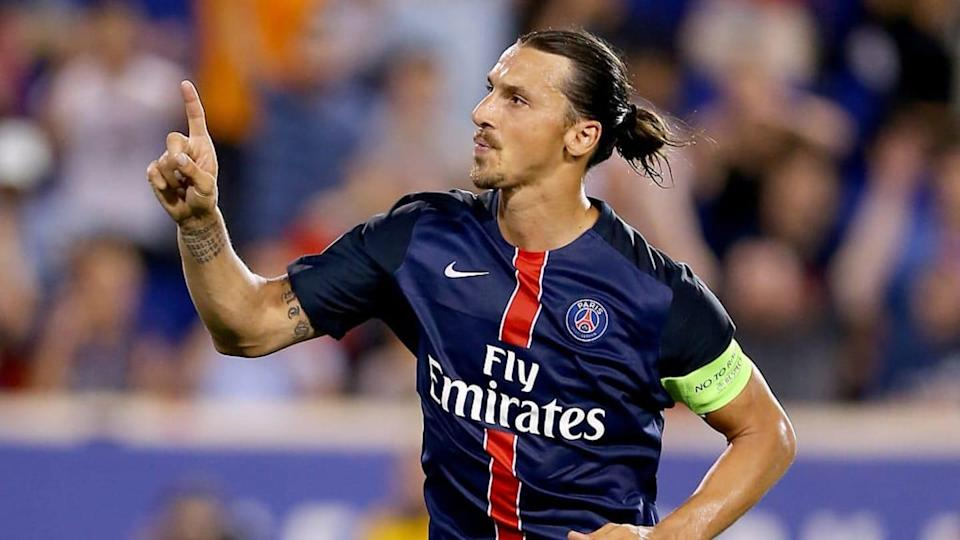 Ibrahimović é uma lenda do PSG. | Elsa/Getty Images