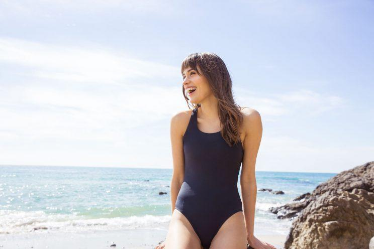 b079e425b193f The Cataline black one-piece swimsuit from Andie. (Photo: courtesy of Andie)