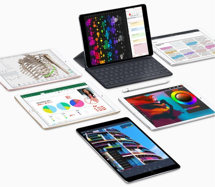 Apple's iPad Pro family.