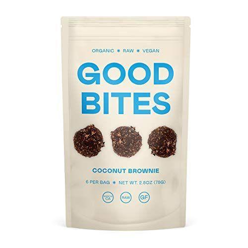 """<p><strong>Good Bites</strong></p><p>amazon.com</p><p><strong>$15.00</strong></p><p><a href=""""https://www.amazon.com/dp/B08NTZ7QNG?tag=syn-yahoo-20&ascsubtag=%5Bartid%7C2141.g.36256545%5Bsrc%7Cyahoo-us"""" rel=""""nofollow noopener"""" target=""""_blank"""" data-ylk=""""slk:Shop Now"""" class=""""link rapid-noclick-resp"""">Shop Now</a></p><p>If you're a fan of coconut and chocolate, you'll love these <strong>delectable brownie bites</strong>. They're super rich and have the texture you want from a brownie. Best of all, they're made from six simple ingredients and have only 3.5g carbs per serving.</p>"""