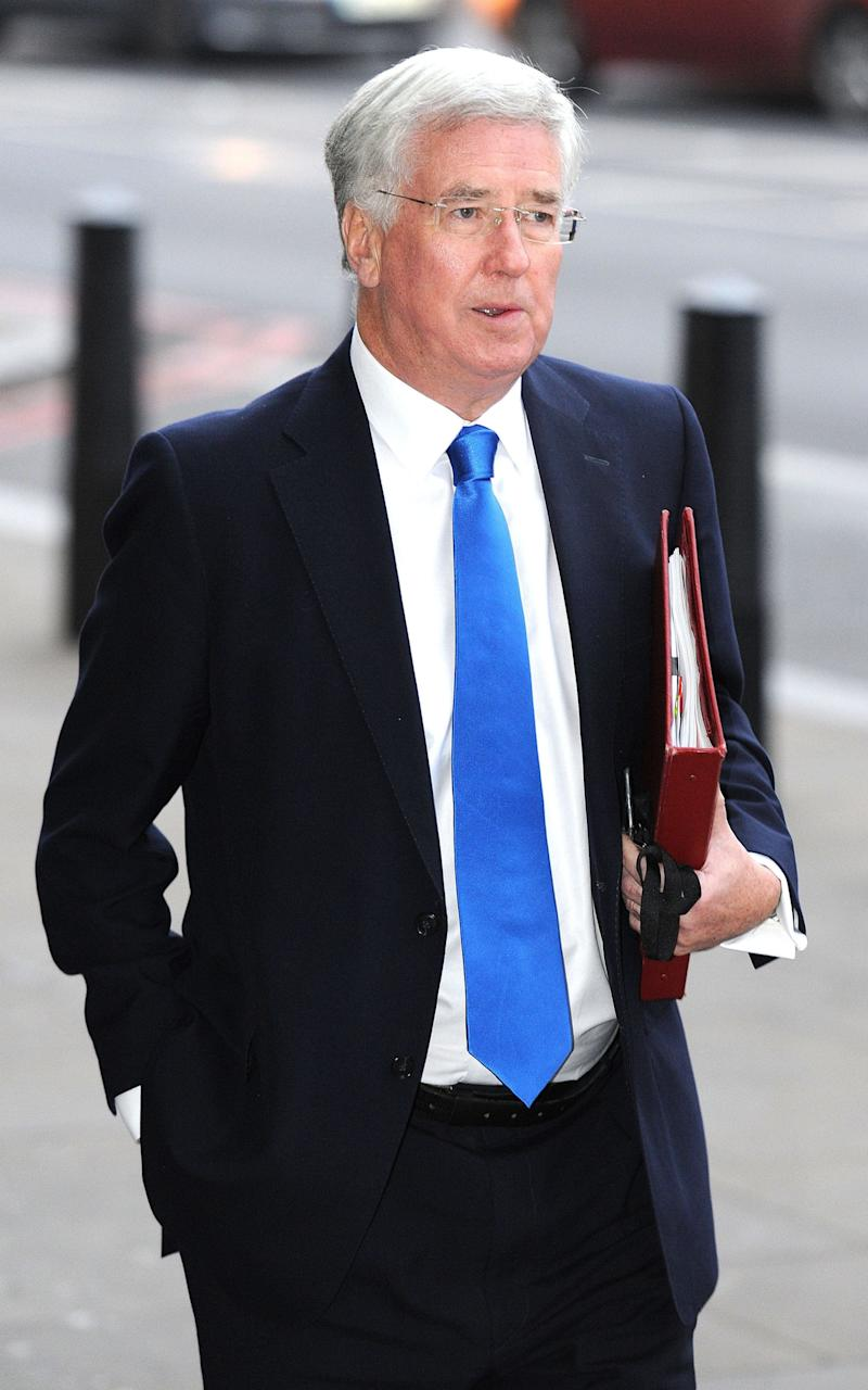 Sir Michael Fallon - Credit: Nick Ansell/PRESS ASSOCIATION
