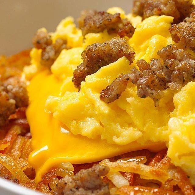 """<p>Waffle's in the name, but <a href=""""https://www.wafflehouse.com/fun-facts/"""" rel=""""nofollow noopener"""" target=""""_blank"""" data-ylk=""""slk:hash browns are the unsung hero"""" class=""""link rapid-noclick-resp"""">hash browns are the unsung hero</a> of Waffle House. Customers get hash browns along with their waffles, or even just hash browns on their own. That's probably because of all the different gotta-have-'em toppings that Waffle House offers for your shredded potatoes, along with the <a href=""""https://gardenandgun.com/articles/scattered-smothered-covered-chunked-too-today-in-southern-history/"""" rel=""""nofollow noopener"""" target=""""_blank"""" data-ylk=""""slk:cool secret language"""" class=""""link rapid-noclick-resp"""">cool secret language</a> the menu has for said toppings. """"Smothered"""" means sautéed onions, """"covered"""" means melted cheese, """"chunked"""" means grilled hickory smoked ham, and so on. </p>"""
