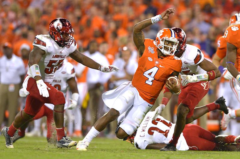 Deshaun Watson was untouchable three years ago against Louisville. (Photo by Grant Halverson/Getty Images)