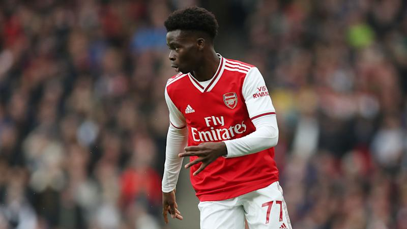 Saka the surprise omission as Pepe starts for Arsenal in north London derby