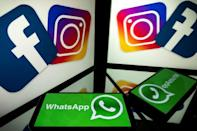 """Facebook's """"family"""" of apps include Instagram and WhatsApp, as well as Messenger"""