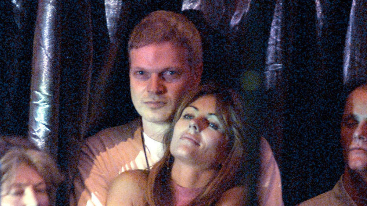 Elizabeth Hurley and movie producer Steve Bing dated in the early 2000s. (Dave Hogan/Getty Images)