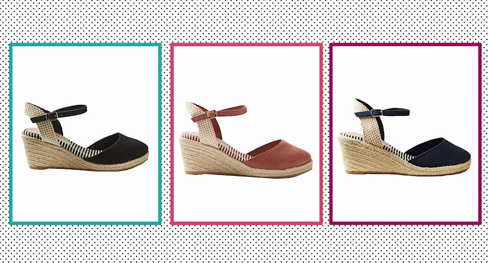 These heeled espadrilles from Marks and Spencer's have received glowing reviews from customers.  (Getty Images)