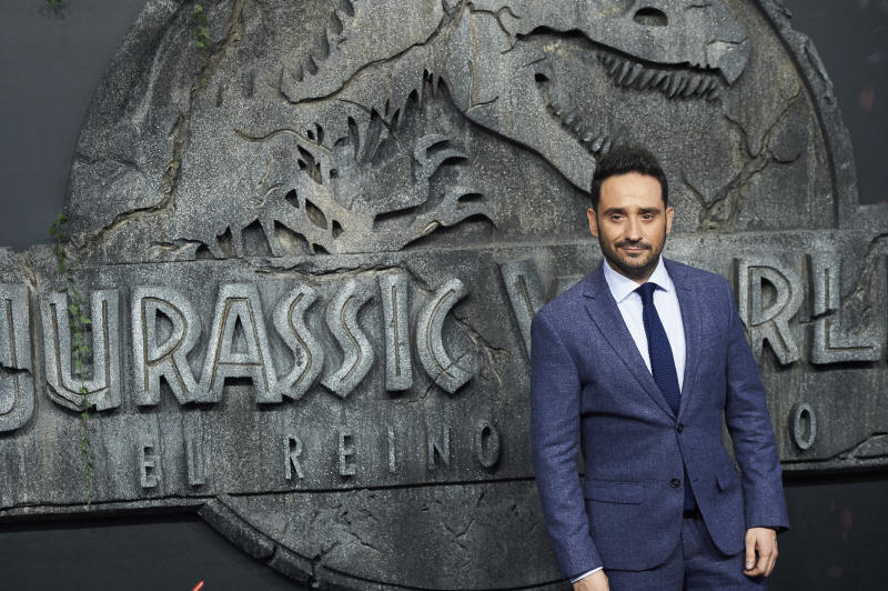 MADRID, SPAIN-May 21: J.A. Bayona attends 'Jurassic World: Fallen Kingdom' World Premiere at WiZink Center on May 21, 2018 in Madrid, Spain. May21, 2018. Credit: Jimmy Olsen/Media Punch ***NO SPAIN*** /IPX