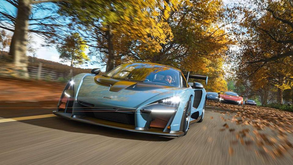 Microsoft's 'Forza Horizon 4' is taking its open-road insanity to England.