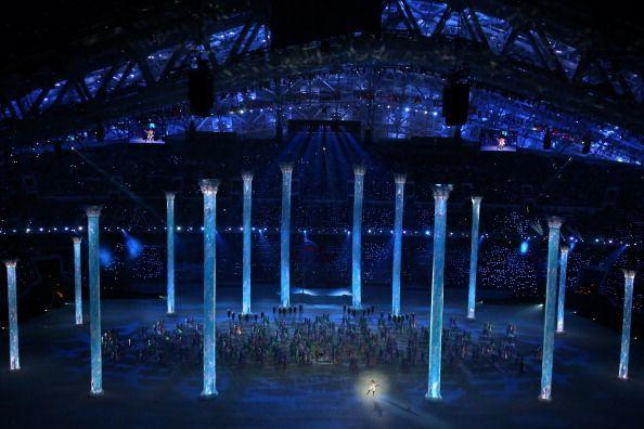 """<p>In front of an audience of 40,000 at the <a href=""""http://www.cnn.com/2014/02/07/world/europe/russia-sochi-winter-olympics/"""" rel=""""nofollow noopener"""" target=""""_blank"""" data-ylk=""""slk:Fisht Olympic Stadium"""" class=""""link rapid-noclick-resp"""">Fisht Olympic Stadium</a>, the Sochi Winter Games opened with tributes to Russia's achievements in dance, classical music, and culture. </p>"""
