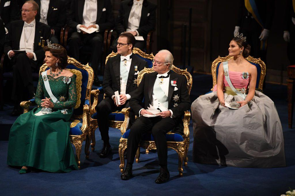 "<p>It's time for the 2018 Nobel Prize ceremonies! Both the <a rel=""nofollow"" href=""https://www.townandcountrymag.com/society/tradition/g25437012/swedish-norwegian-royal-family-nobel-prize-ceremony-photos/"">Swedish and Norwegian royal families</a> are hosting events to honor this year's recipients. In accordance with Nobel Prize tradition, the prizes for physics, chemistry, physiology or medicine, and literature are awarded in Stockholm, Sweden, while the Peace Prize is given in Oslo, Norway. From speakers and receptions to ball gowns and tiaras, we've rounded up the must-see moments from the annual Nobel Prize ceremonies here:<br></p>"