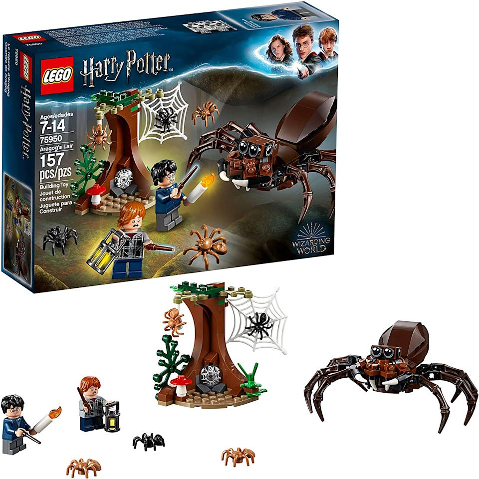 LEGO Harry Potter and The Chamber of Secrets Aragog's Lair 75950 Building Kit. Image via Amazon