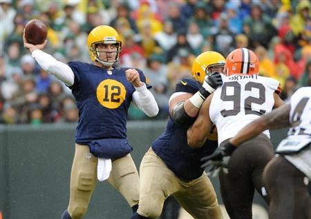 NFL: Cleveland Browns at Green Bay Packers