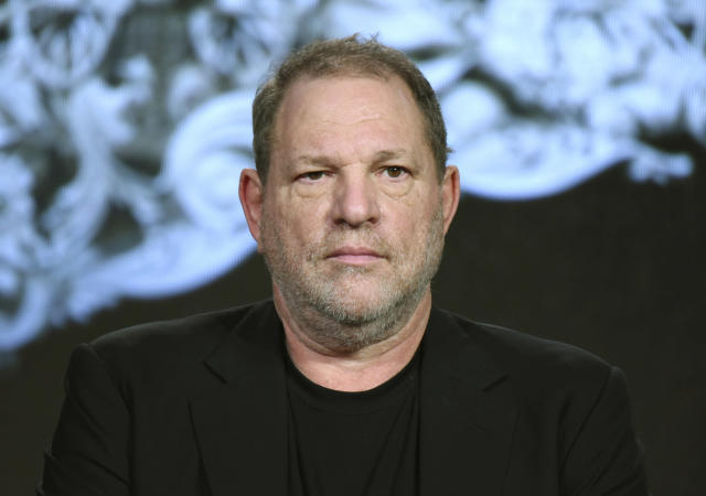 Harvey Weinstein is on indefinite leave from his film company pending an internal investigation into sexual harassment claims leveled against the Oscar winner. (Photo: Richard Shotwell/Invision/AP)