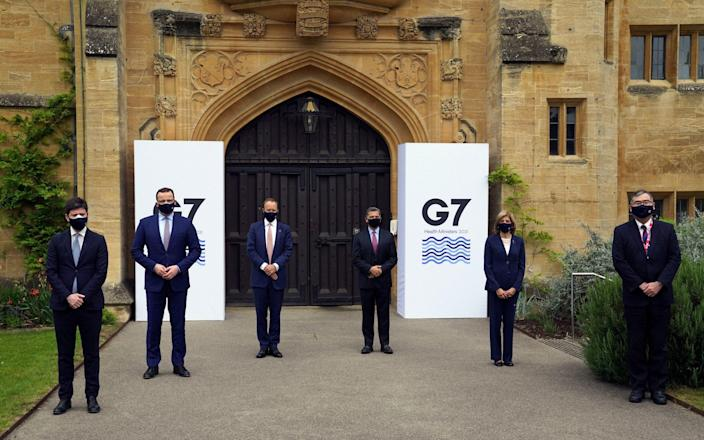 G7 health ministers from Italy, Germany, the US, EU, Japan and UK meet in Oxford on June 3 2021 - WPA Pool/Getty Images