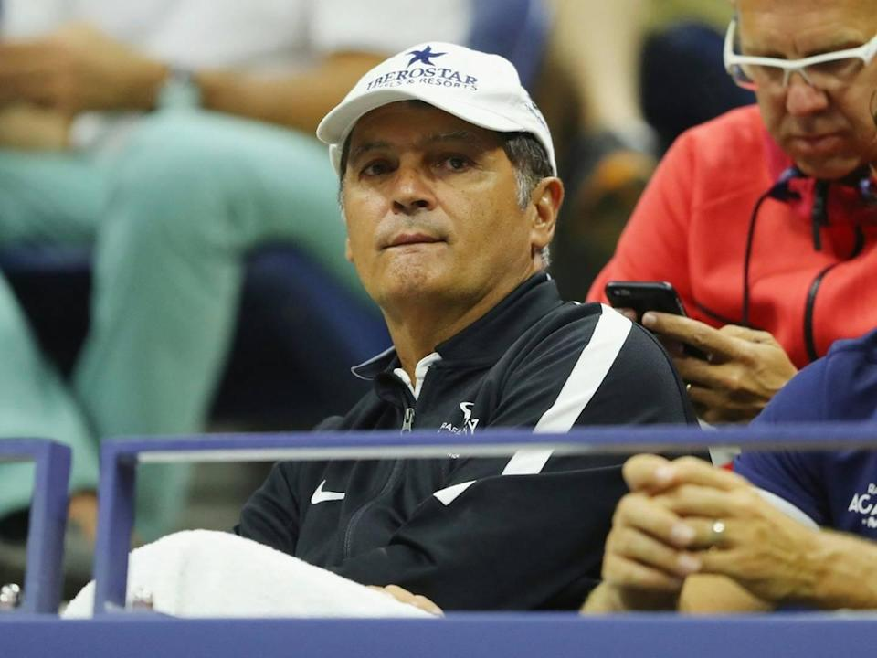 Toni Nadal coacht Auger-Aliassime
