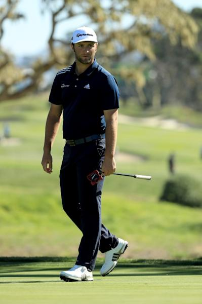 World number two Jon Rahm of Spain had five birdies without a bogey in his five-under par 67 at the AT&T Pebble Beach Pro-Am