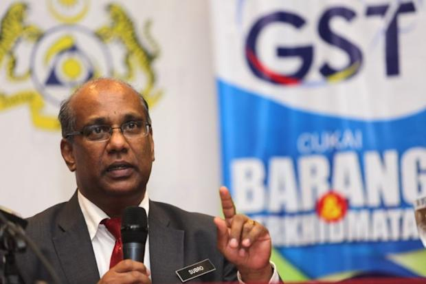 In the copy of the alleged letter, MHO was shown saying it was representing other NGOs requesting the King to appoint current Customs deputy D-G Datuk Zulkifli Yahya, instead of Datuk Subromaniam Tholasy (pic). — File pic