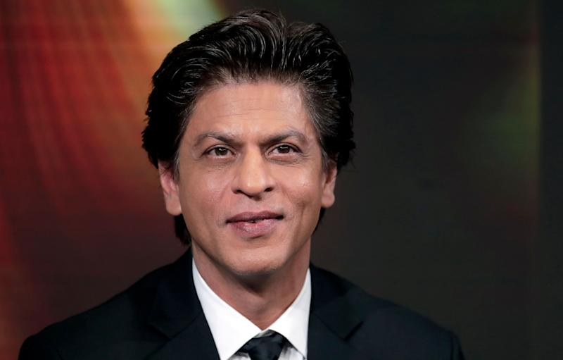 Indian actor Shah Rukh Khan attends a conversation on creating change in India through women's empowerment, as part of the annual meeting of the World Economic Forum in Davos, Switzerland, Tuesday, Jan. 23, 2018. (AP Photo/Markus Schreiber) (Photo: ASSOCIATED PRESS)