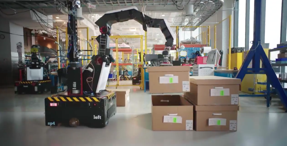Novo robô da Boston Dynamics.